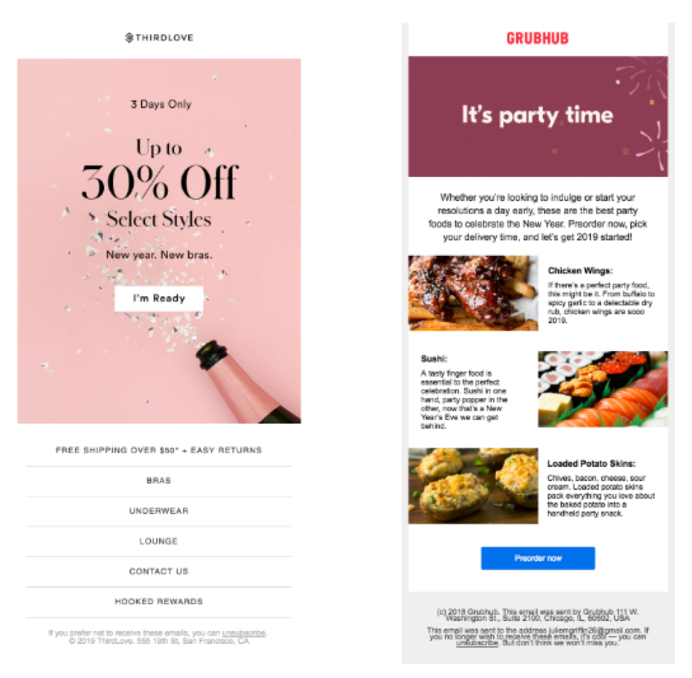 Email Layout 1