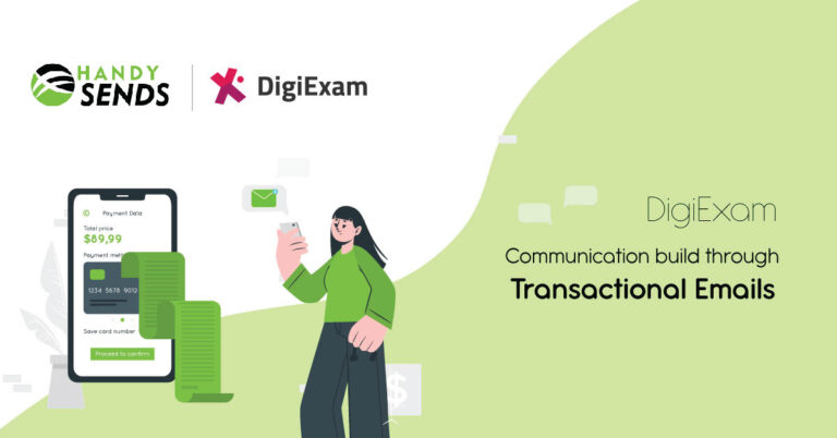 DigiExam | Communication build through Transactional Emails