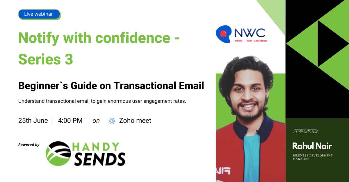 Transactional Email event